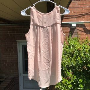 Pink Anthropologie top